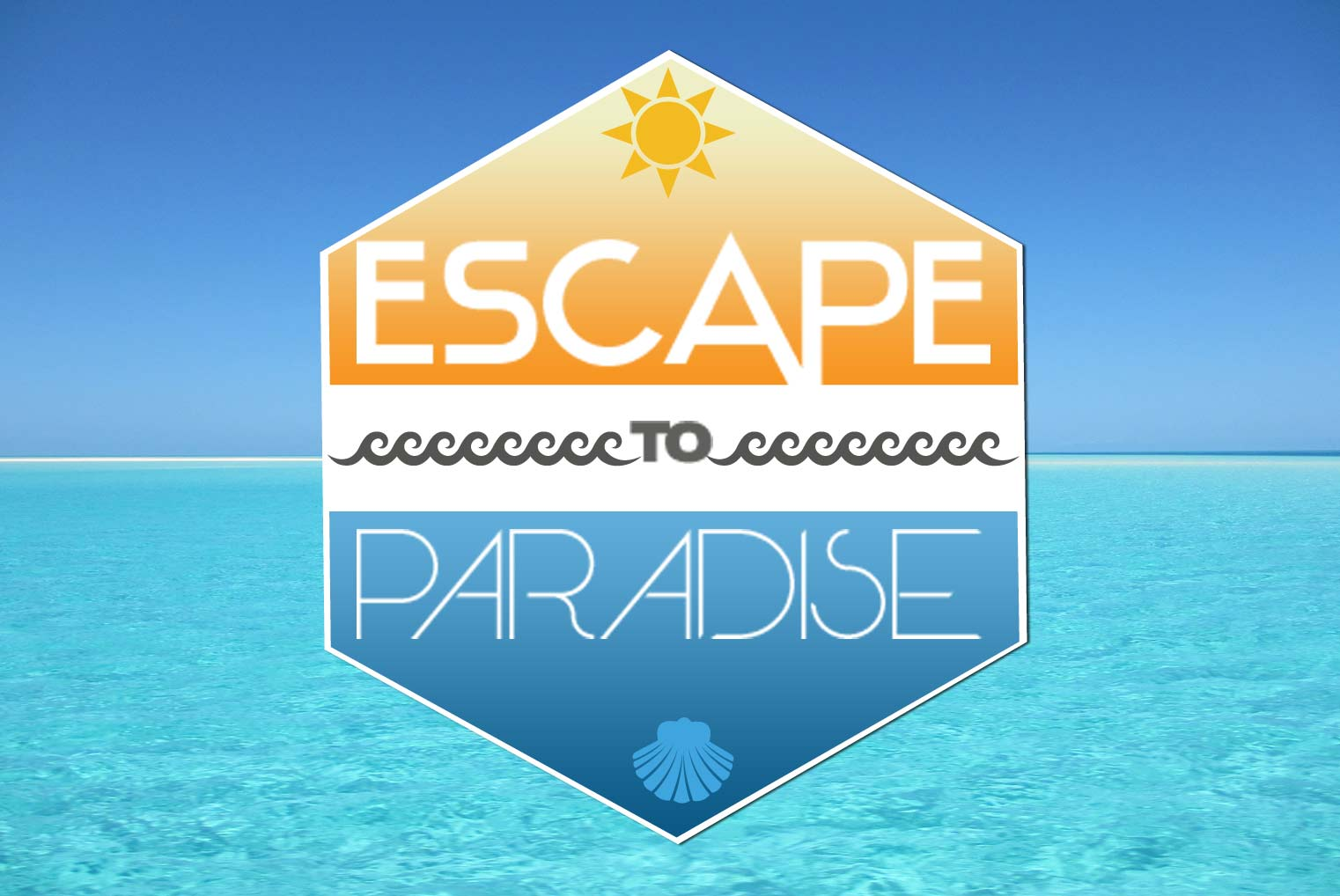 Escape to Paradise Email Badge/Logo