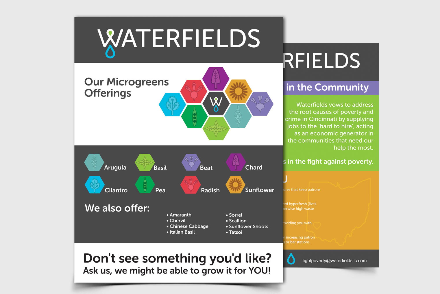 Waterfields Back Page Sales Sheet